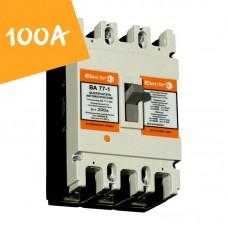 Автоматический выключатель ВА77-1-250 100А 3 полюса 8-12 In