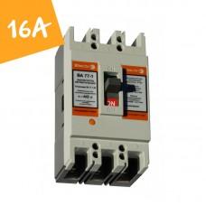 Автоматический выключатель ВА77-1-125 16А 3 полюса 8-12 In