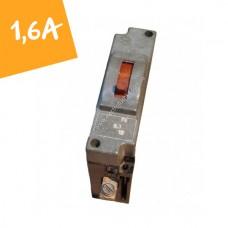 Автоматический выключатель ВА-21-29 1,6А на 1 полюс (АК-63 1МГ)