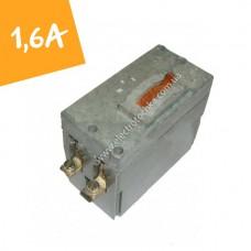 Автоматический выключатель ВА-21-29 1,6А на 2 полюса (АК-63 2МГ)