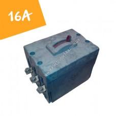Автоматический выключатель ВА-21-29 16А на 3 полюса (АК-63 3МГ)