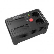 Cтабилизатор напряжения  НСТ-1000 на 2 розетки