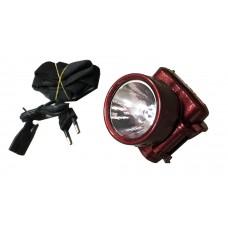 Налобный фонарь аккумуляторный LED LUXURY YJ-1898-1 (1W)