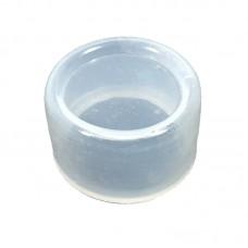 Колпачок силиконовый, круглый SLC