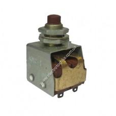 Кнопка малогабаритная двухполюсная КМ2-1, КМ2-1В