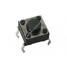Тактовая кнопка 6x6 h4.3, 4pin шток 0.8