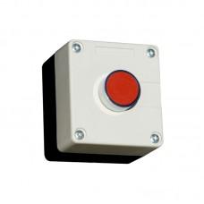 Кнопочный пост, AC380/DC110, КРАСНАЯ кнопка PB2-BA42, NС, 230В, IP54 ElectrO