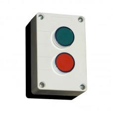 Кнопочный пост, AC380/DC110, ЗЕЛЕНАЯ кнопка PB2-BA31, N0; КРАСНАЯ кнопка PB2-BA42, NС, 230В, IP54 (ПУСК-СТОП)  ElectrO