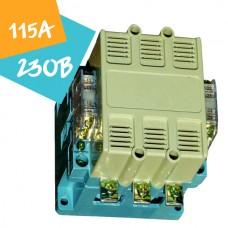 Контактор ПМА-1 3P 115А 230В