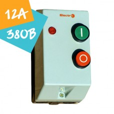 Контактор ПМЛк-1-12  12А 380В 5,5кВт АС3 (в захисному корпусі)