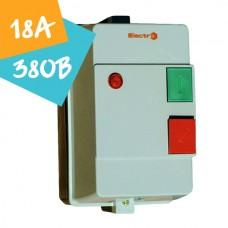 Контактор ПМЛк-1-18  18А 380В 7,5кВт АС3 (в захисному корпусі)