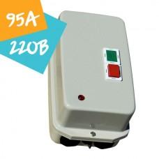 Контактор ПМЛк-1М  95А 220В 45кВт АС3 (в металевому захисному корпусі)