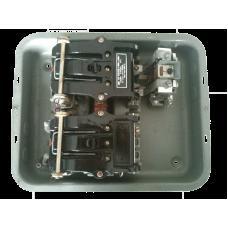 ПАЕ-324 40А в металлическом корпусе реверсивный с реле тепловым