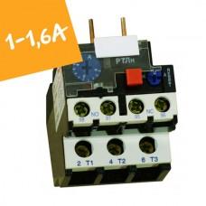 Реле електротепловое  РТЛн на 1А-1,6А