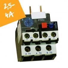 Реле електротепловое  РТЛн на 2,5А-4А