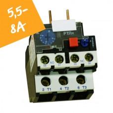 Реле електротепловое  РТЛн на 5,5А-8А