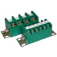 Зажим наборной ЗН28-4П 25А 10 клемм